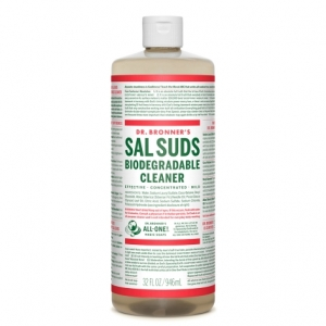 Dr. Bronner's Sal Suds Biodegradable Cleaner (946 mL / 32 oz) 천연 다용도 세제