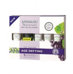 ANDALOU naturals - Get Started Age Defying Skin Care Kit (5 Piece Kit) 안달로우 에이지 디파이닝 세트