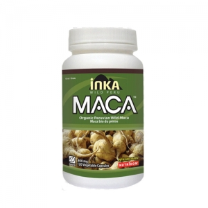 David Health Wild Peru - MACA Regular 800mg 120 Vegetable Capsules