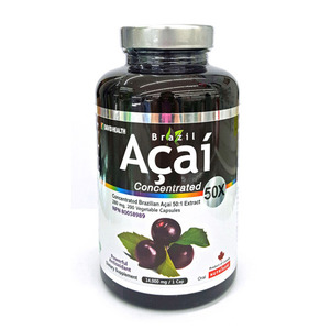BRAZIL ACAI CONCENTRATED 50X - 200 V 캡슐 (아사이베리)